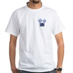 Masonic 47th Proposition of Euclid White T-Shirt
