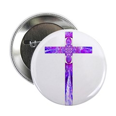 "Cross 014 2.25"" Button (10 pack)"