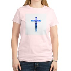 Cross 015 Women's Pink T-Shirt