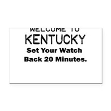 welcome to kentucky Rectangle Car Magnet