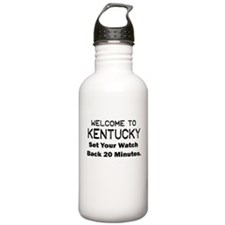 welcome to kentucky Water Bottle