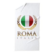 Roman Beach Towel