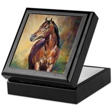 Dude horse painting Keepsake Box