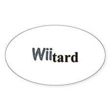 wiitard Oval Decal