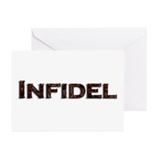 Infidel Greeting Cards (Pk of 10)