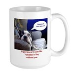 "Fayes ""Dog gone it"" Valentines Mug (lar"