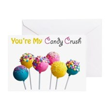 Candy Crush Greeting Card