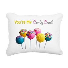 Candy Crush Rectangular Canvas Pillow