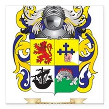 McDonnell Coat of Arms - Family Crest Square Car M