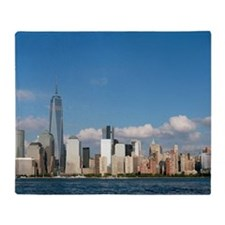 Stunning new New York City skyline Throw Blanket