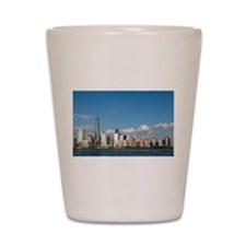 Stunning new New York City skyline Shot Glass