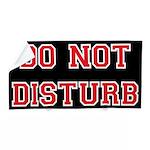 Do Not Disturb Beach Towel