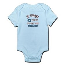 Age specific birthday designs for all Infant Bodys