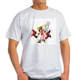 Save the Moose ! shadow Ash Grey T-Shirt