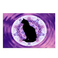 Kaleidoscope Cat Postcards (Package of 8)