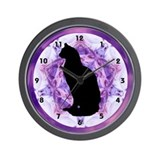 Kaleidoscope Cat Wall Clock