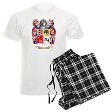 McGrath Coat of Arms - Family Crest Pajamas