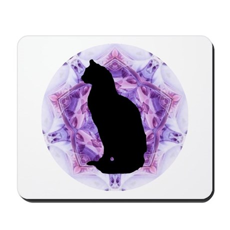 Kaleidoscope Cat Mousepad