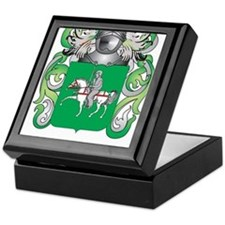 McGuire Coat of Arms - Family Crest Keepsake Box