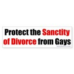 Protect the Sanctity of Divorce from Gay