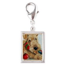 Ornaments Silver Portrait Charm