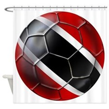 Trinidad Tobago Football Shower Curtain
