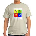 Color your Life Ash Grey T-Shirt