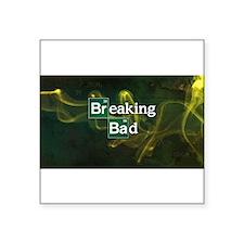 "Breaking Bad Logo Square Sticker 3"" x 3"""