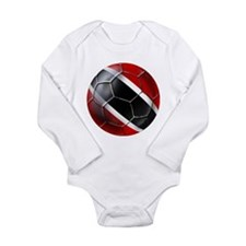 Trinidad Tobago Football Long Sleeve Infant Bodysu