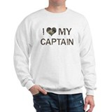 Captain: Love - Vintage Sweatshirt