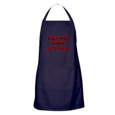 THIS HOT PAPA IS 70 TODAY Apron (dark)