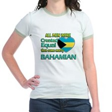 Bahamian wife designs T