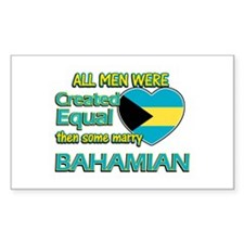Bahamian wife designs Decal