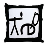 YEP! Throw Pillow