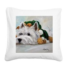 Humbug Square Canvas Pillow