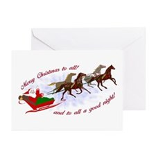 Horsey Christmas Greeting Cards (Pk of 10)