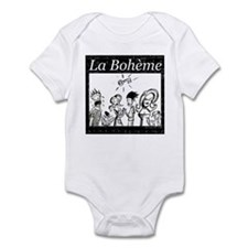 La Boheme black & white Infant Bodysuit