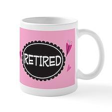 Retired Cute Retirement Gift Mug