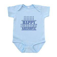 Happy Birthday Grandpa Infant Bodysuit