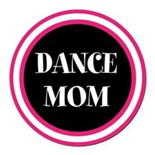 Cool Dance Round Car Magnet