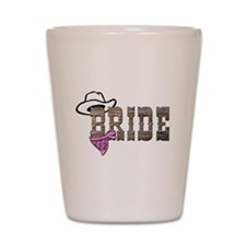 Cowgirl Bride Shot Glass