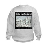 Don Giovanni black & white Sweatshirt