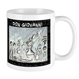 Don Giovanni black & white Small Mug