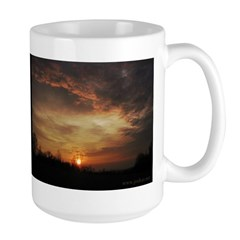 Sunset Large Mug