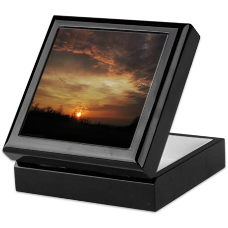 Sunset Keepsake Box