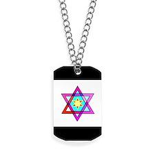Jewish Star Of David Dog Tags
