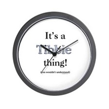 Tibbie Thing Wall Clock