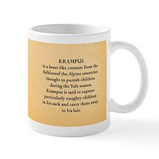 Krampus Historical Mug