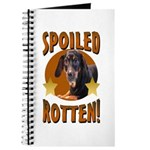 Spoiled Rotten Dachshund Journal