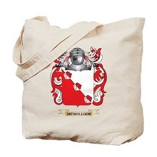 McWilliam Coat of Arms - Family Crest Tote Bag